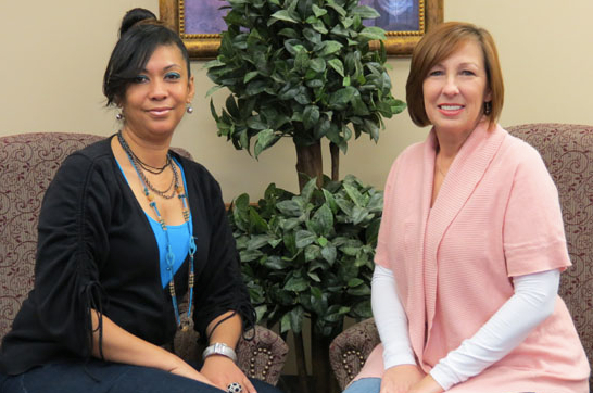 Carla Parker and Lisa Howell, Customer Service Representatives